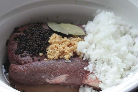 Barbacoa (Crock Pot)