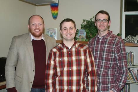 Three Authors Visit