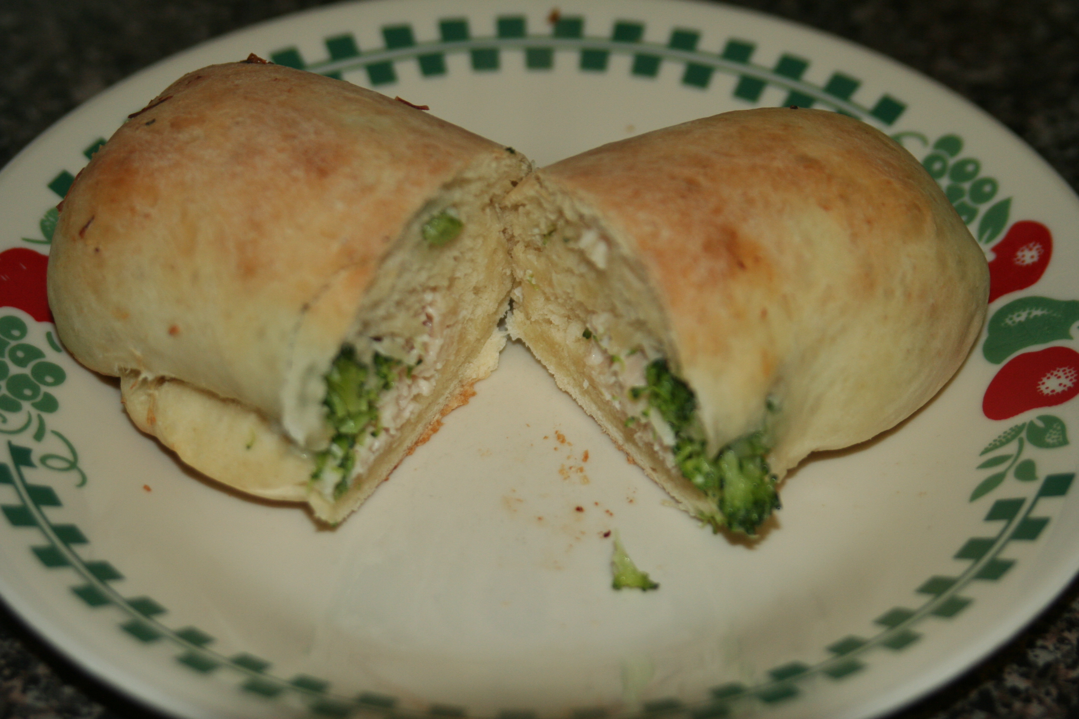 Chicken-Broccoli Pocket Sandwiches